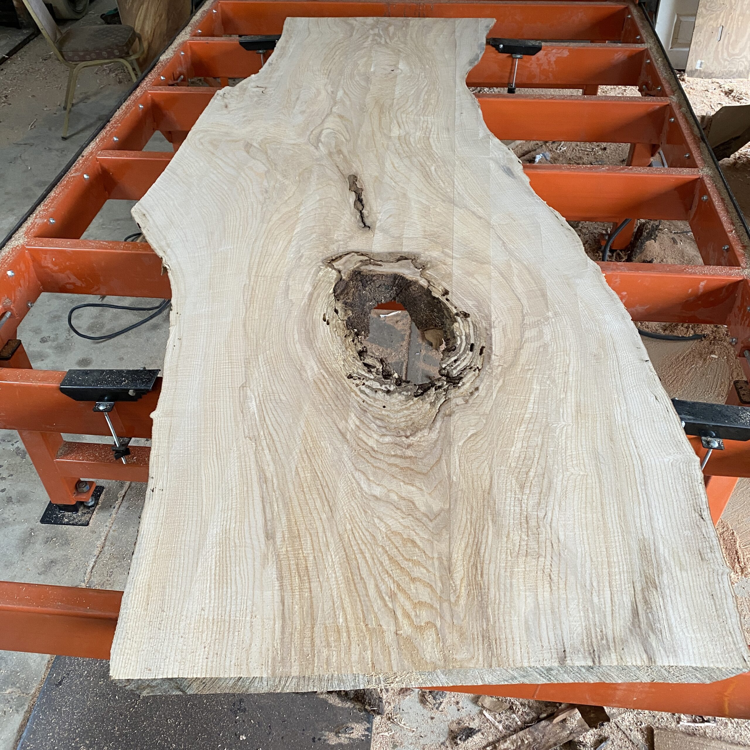 ash slab