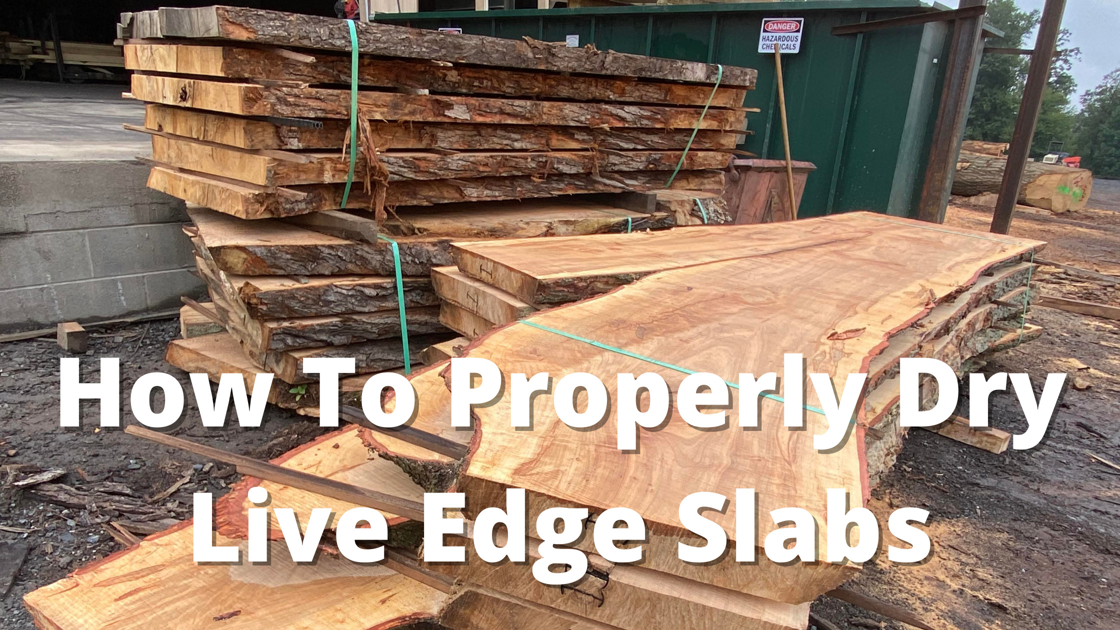 how to dry live edge slabs (1)