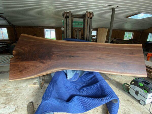 black walnut wood slab
