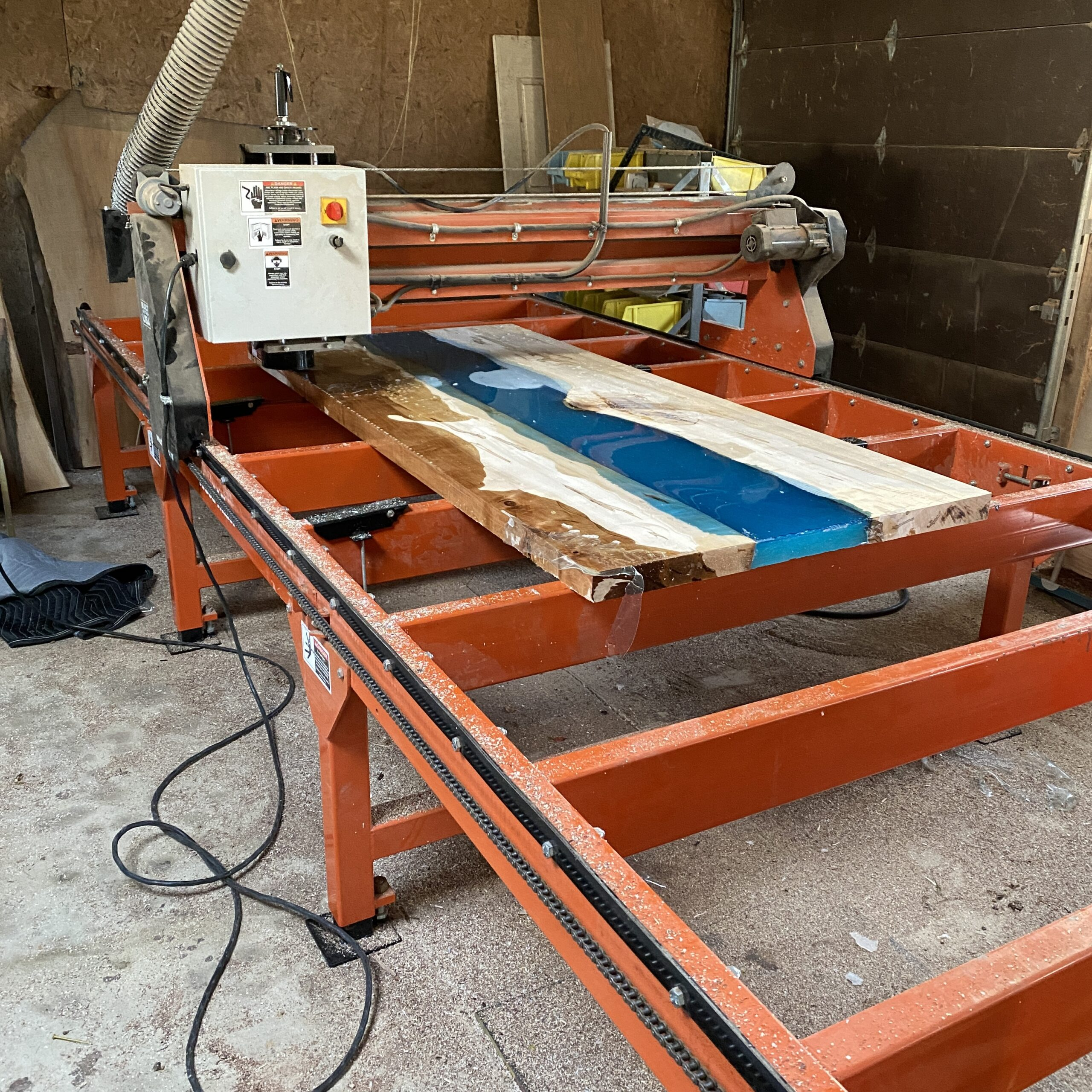 flattening the river table