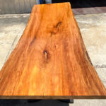Large sycamore tabletop.