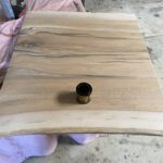 Sycamore before being stained.