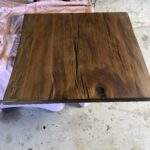 sycamore with dark stain