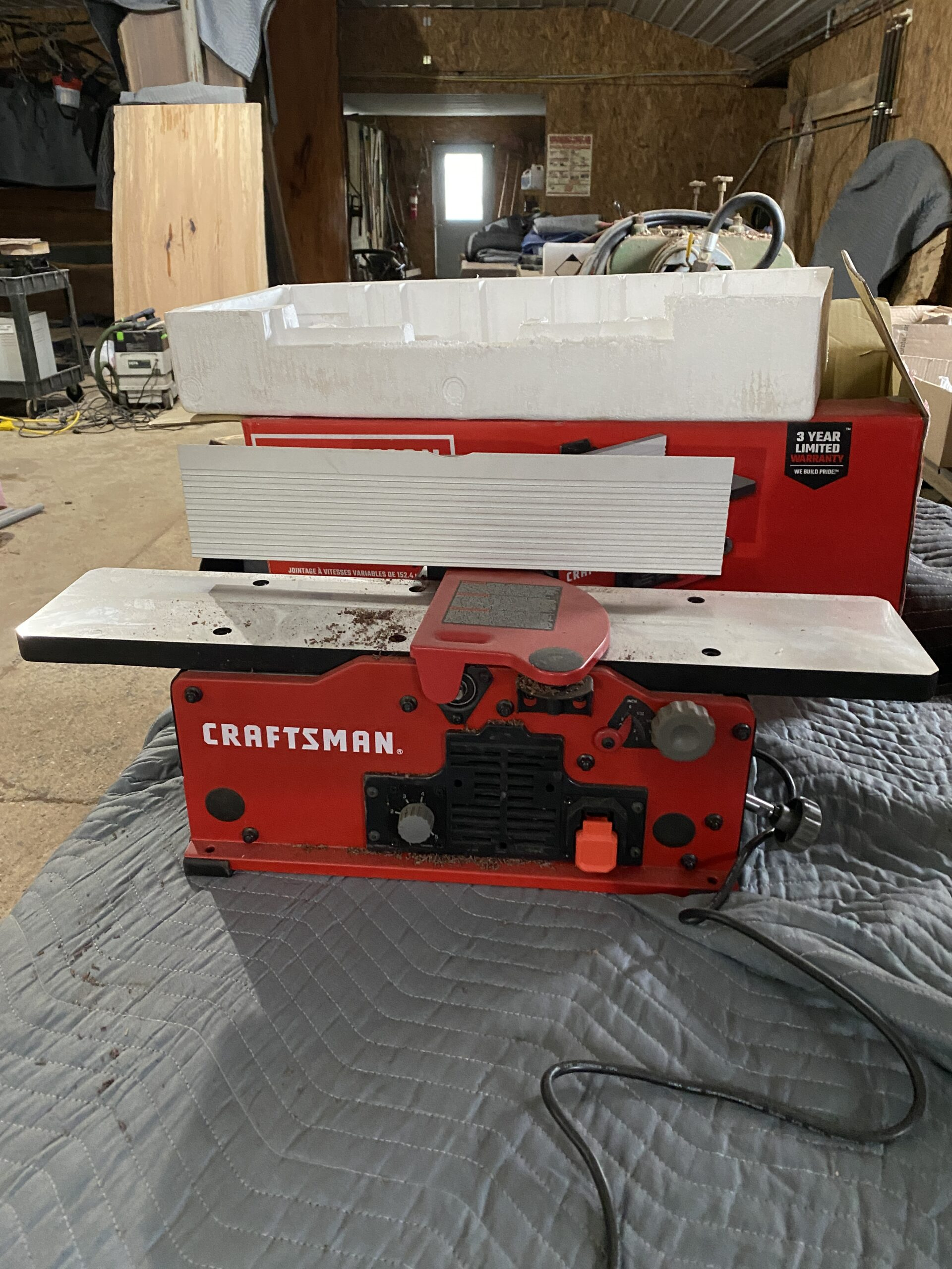 jointer for wood