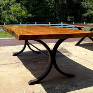 sycamore slab table