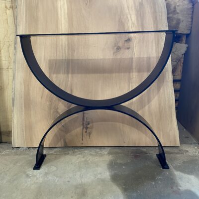 rolled steel table legs