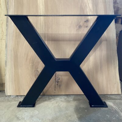 tube steel X legs