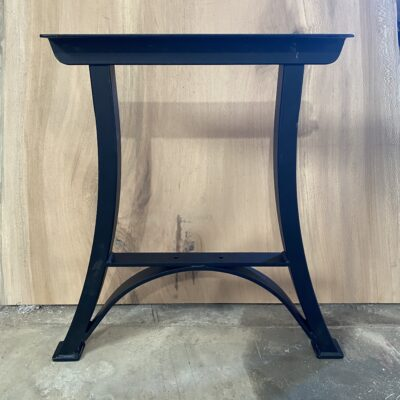 wood beam metal legs